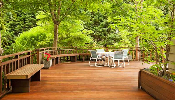 image of residential deck