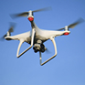 image of drone flying