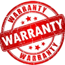 image of a warranty sign