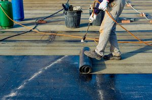 image of commercial roof coating
