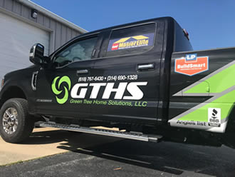 image of Greentree Home Solutions truck